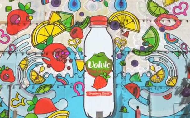 Volvic Touch of Fruit unveils animated advertisement