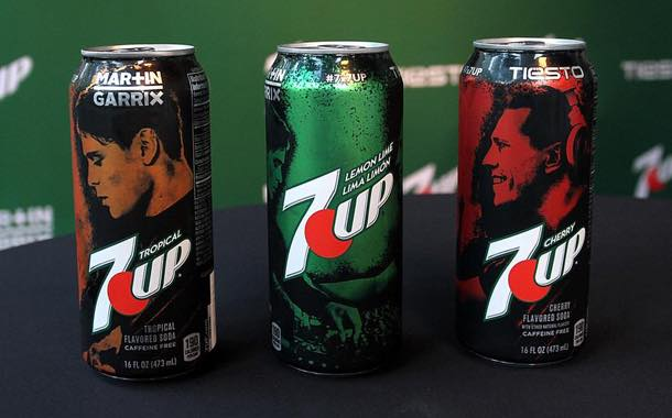 DJs Martin Garrix and Tiësto design cans for 7Up