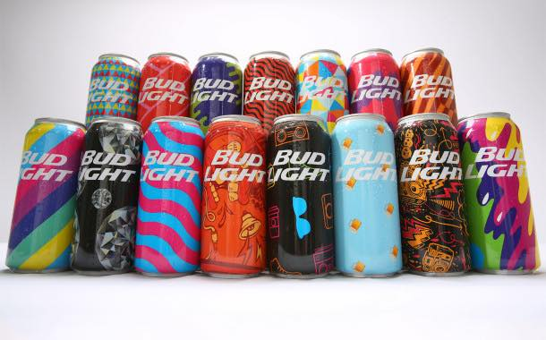Bud Light releases limited edition festival cans in the US