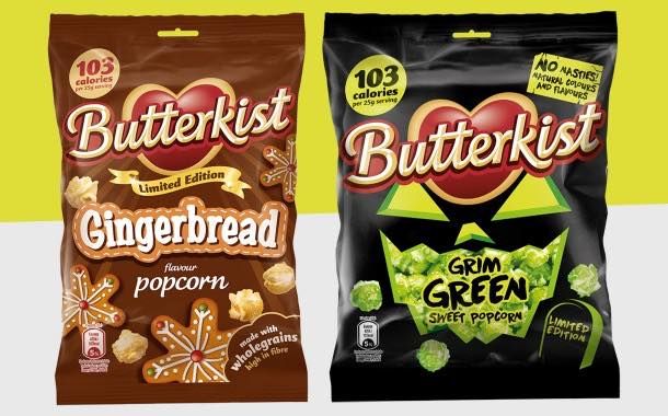 Butterkist launches limited edition Halloween flavours