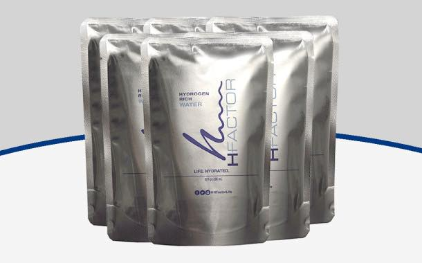 HFactor launches line of hydrogen-rich water pouches
