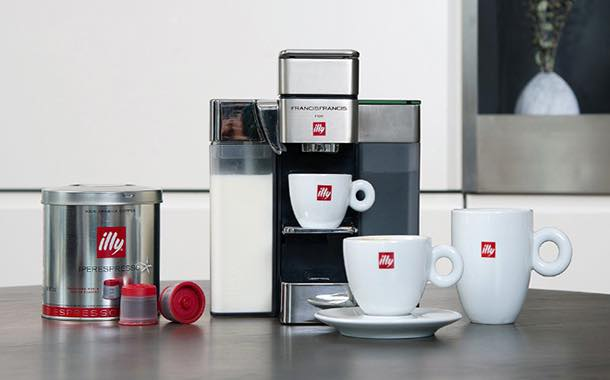 Illy introduces coffee and espresso single serve system