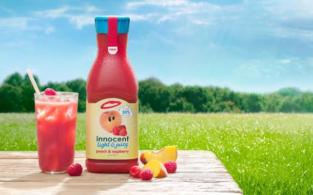 Innocent launches lighter juices with 30% less sugar
