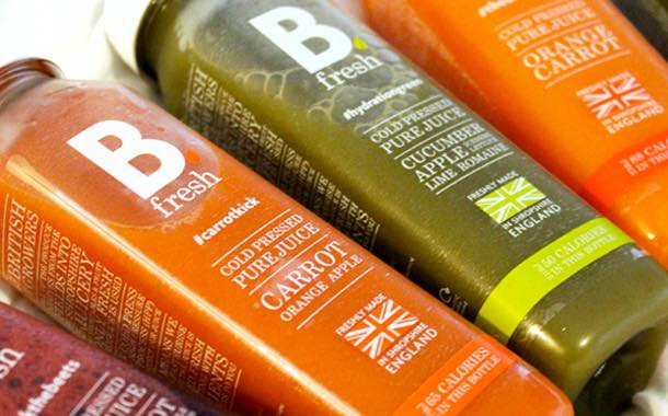 Juice brand B.Fresh secures new listing with supermarket Asda