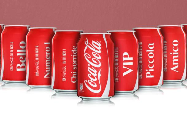 Coca-Cola Italia and Rexam team up on limited edition cans