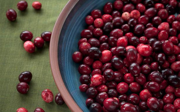 """Cranberries are one of the products to benefit from the """"Delia effect""""."""