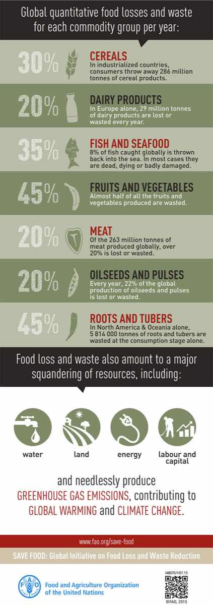 Food Loss and Waste Facts