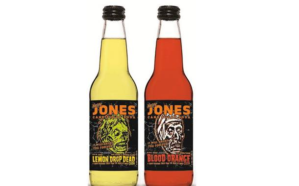 Jones Soda launches two limited-edition beverage varieties for halloween