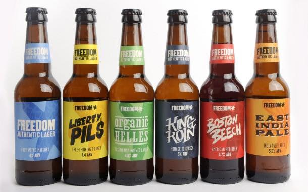 Freedom Brewery adds new variants alongside pack redesign