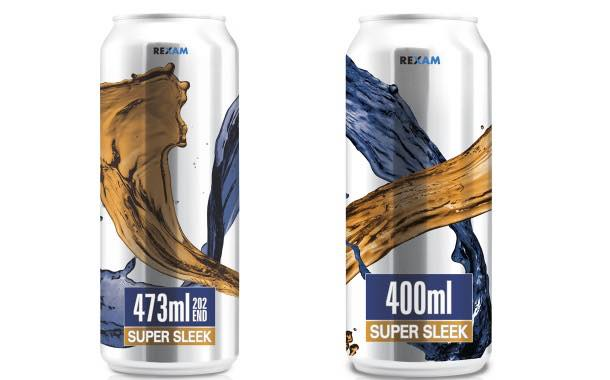 Rexam release two new sleek can sizes