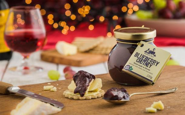 The Blueberry Brothers launches 'gently spiced' blueberry chutney