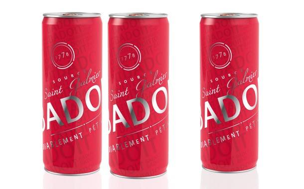 French sparkling water brand Badoit adds 330ml sleek cans