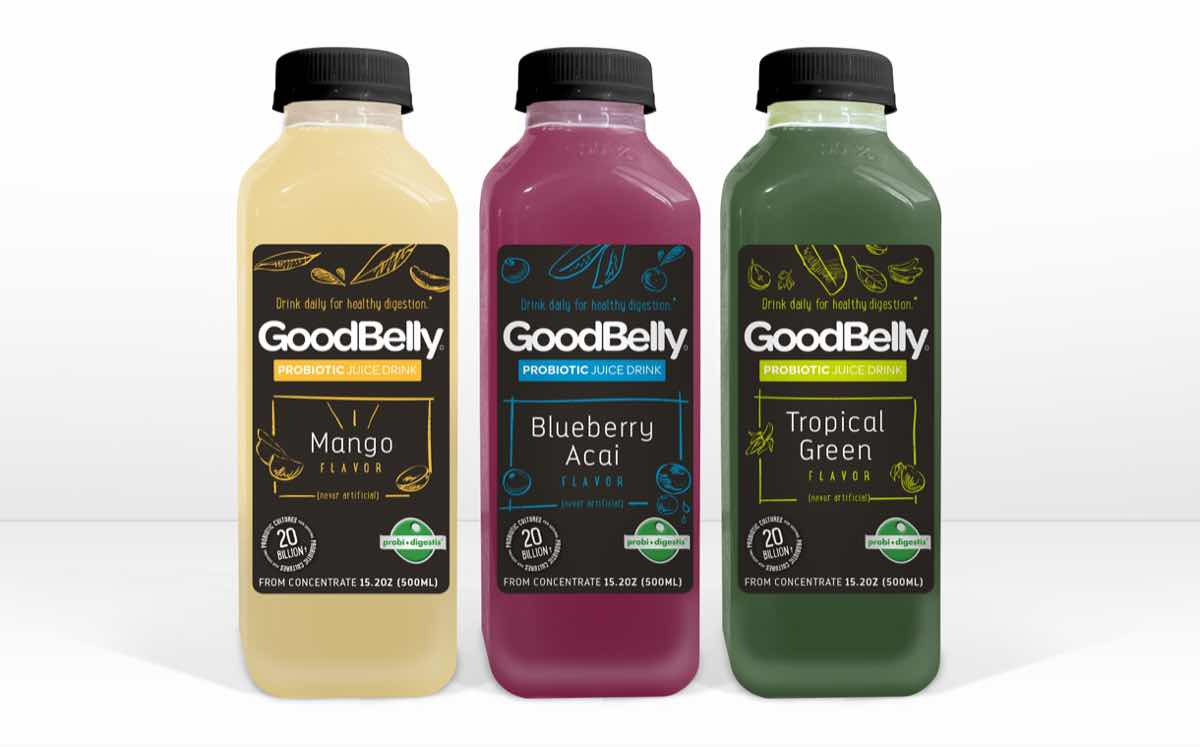 GoodBelly launches convenient 15oz grab-and-go bottle format