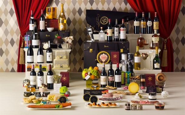 These Harrods Christmas hampers are just mouth-watering