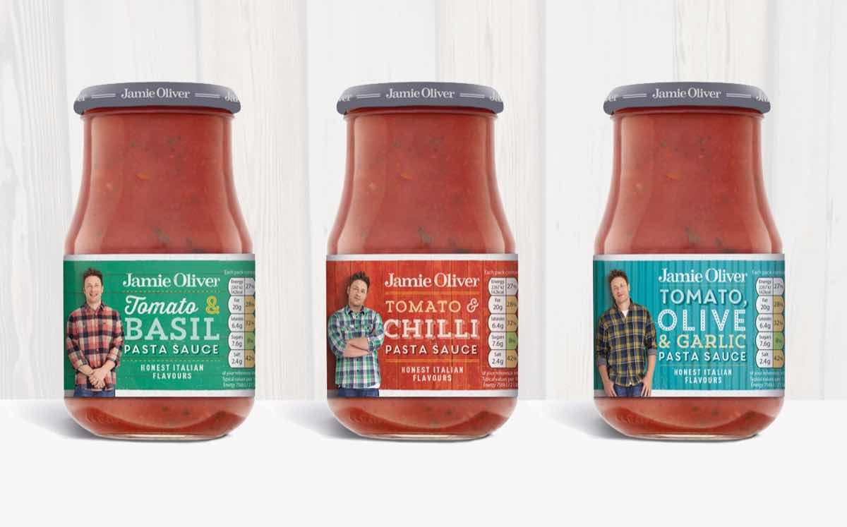 Jamie Oliver Relaunches Food Brand With New Pack Design Foodbev Media