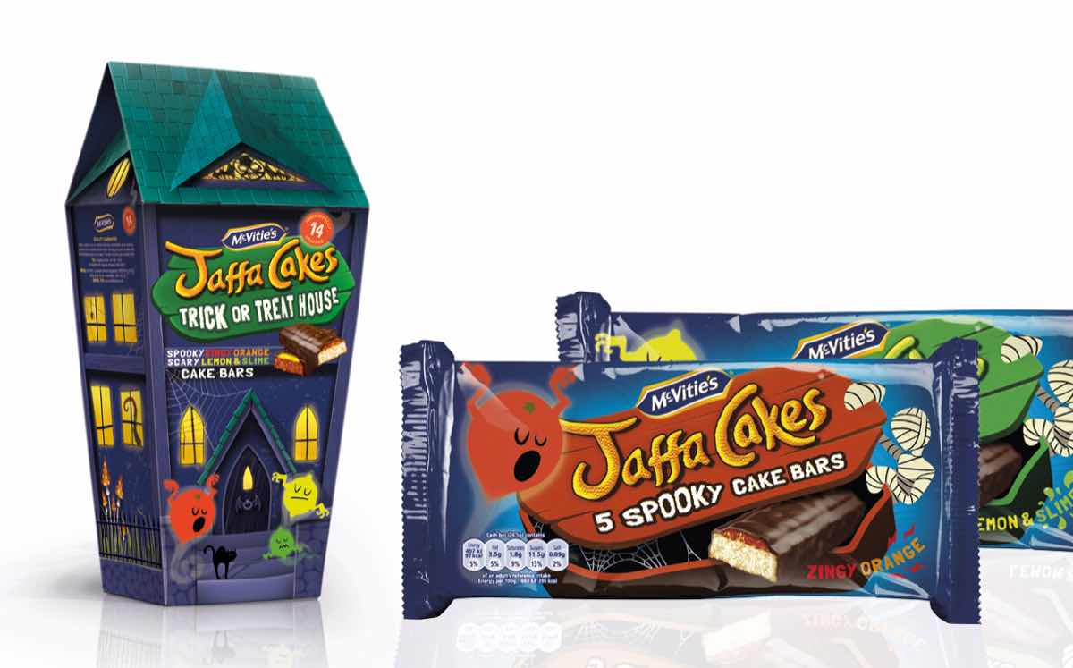 United Biscuits debuts Jaffa Cake sharing carton for Halloween