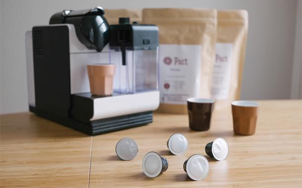Pact Coffee crowdsources funding for Nespresso coffee pods