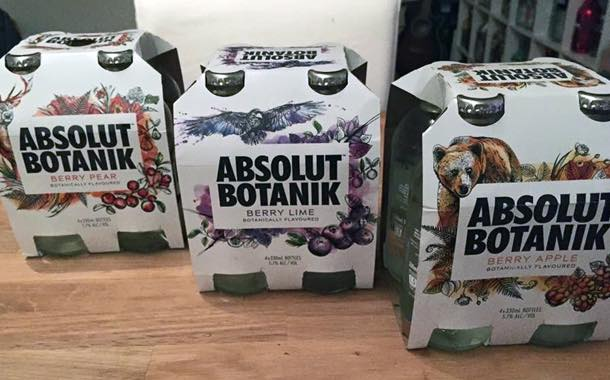 Absolut launches sparkling vodka with Nordic-inspired flavours