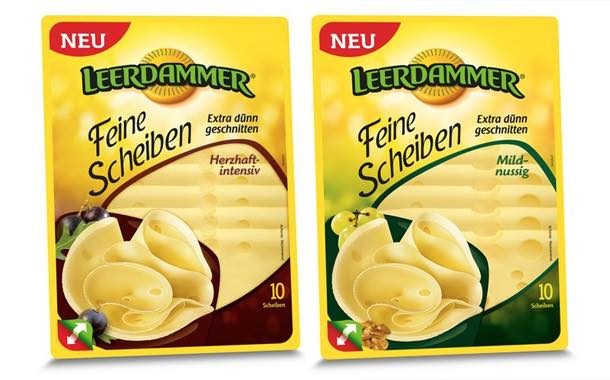 Leerdammer partners Multivac on new thermoformed packs