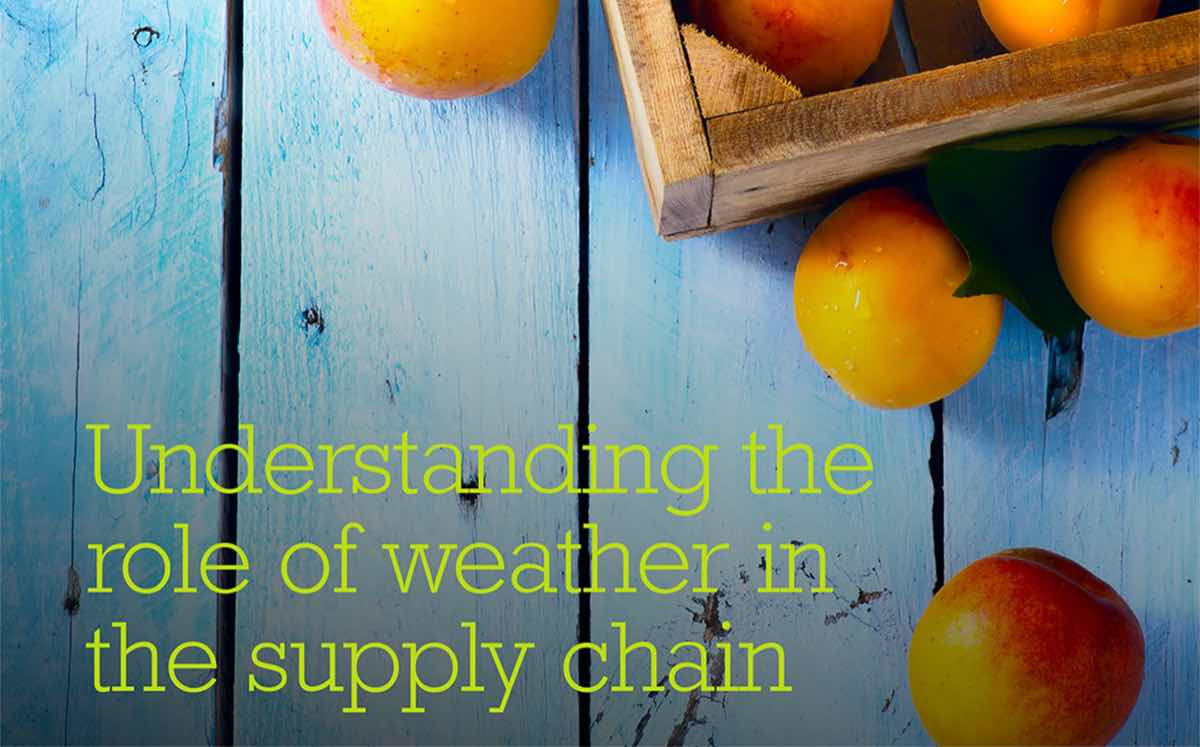 The impact of weather on the UK retail industry