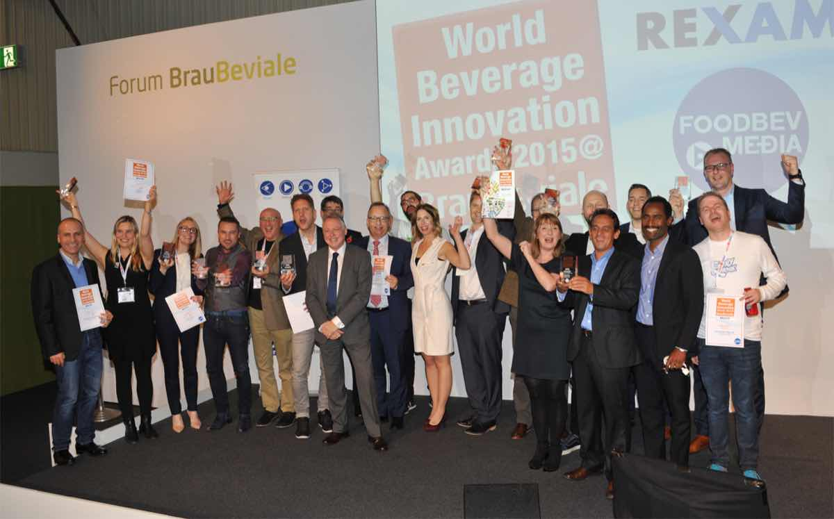 Winners and finalists of the World Beverage Innovation Awards 2015 announced