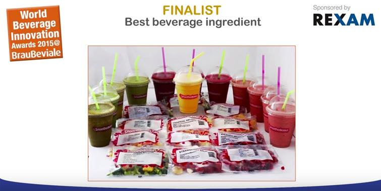 Video: Packaging, ingredients, sustainability, and technology in the World Beverage Innovation Awards 2015
