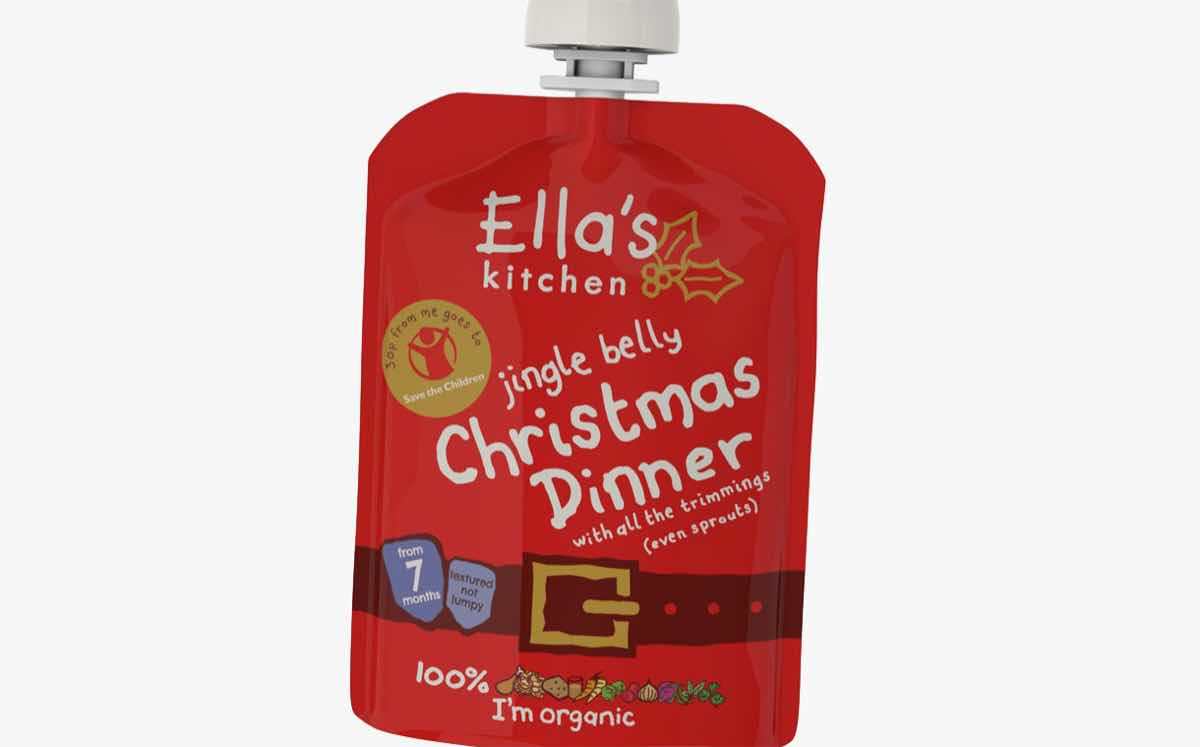 Ella's Kitchen partners with Save the Children on pouches