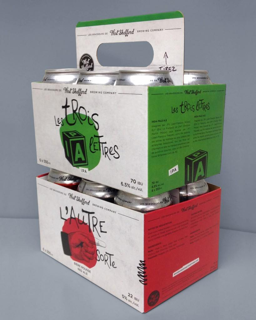 Canadian Brewer Debuts Carrier Carton With Pull out Handle