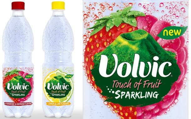 Volvic Touch of Fruit launches new 50cl on-the-go flavoured sparkling range