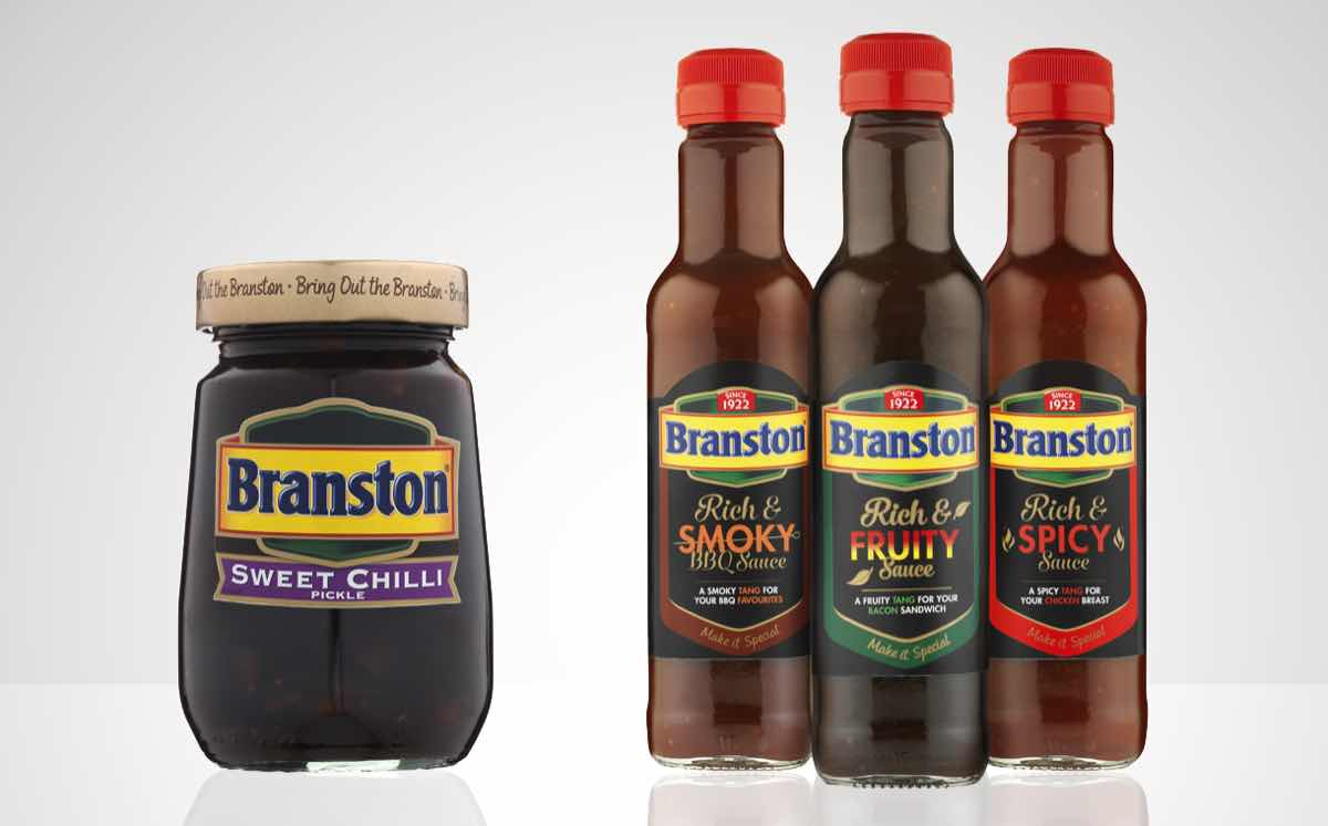 Branston launches new flavoured pickle and table sauces