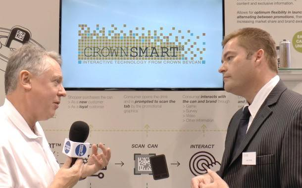 Interview: Crown Bevcan's Matt Twiss talks about the CrownSmart interactive can