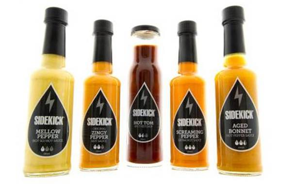 Sidekick launches 'adventurous' range of hot table sauces