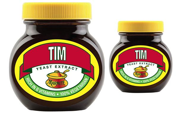 Marmite launches packaging personalisation campaign