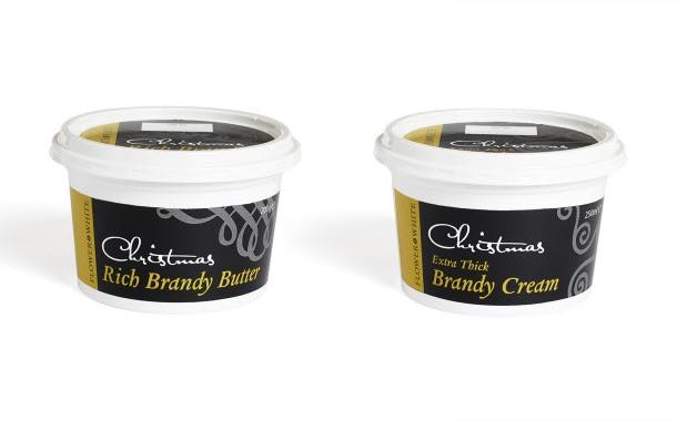 Flower & White launches new brandy butter and brandy cream