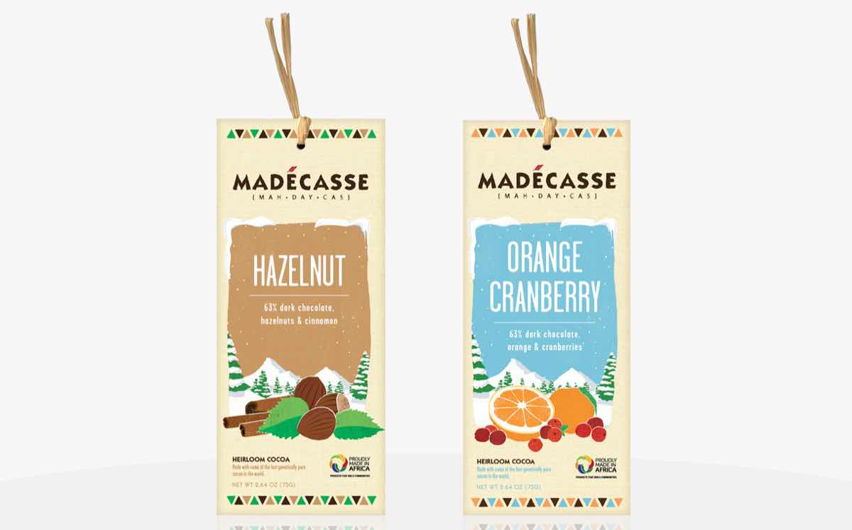 Madécasse adds festive flavours to its 'fair-for-life' chocolate bars