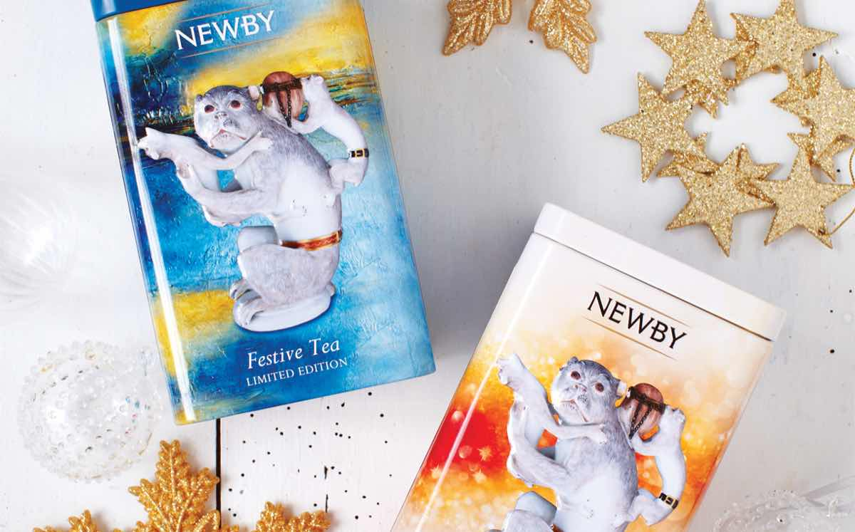 Newby Teas produces caddy designs for year of the monkey