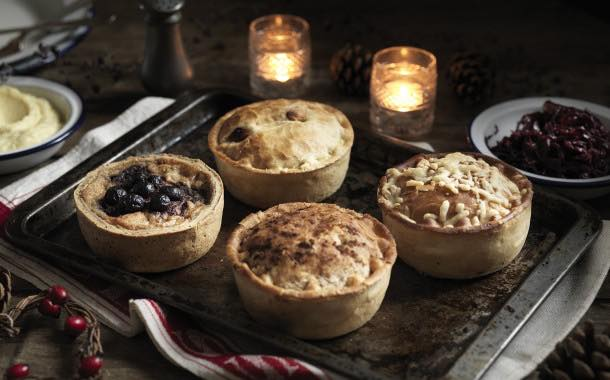 Pieminister launches menu of four festive pies this Christmas