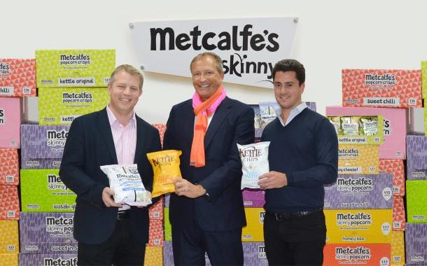 Kettle Chips takes 26% stake in snack brand Metcalfe's Skinny