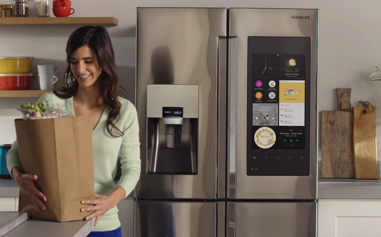 Got milk? Smart fridge and app mean you'll never run out again!