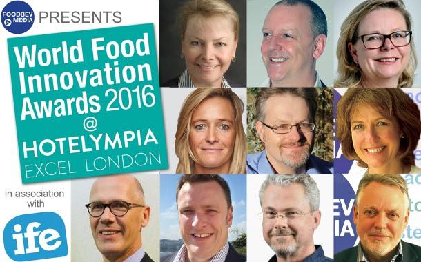 World Food Innovation Awards judging panel announced