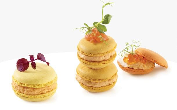 Belgian food company launches curry-flavoured macarons