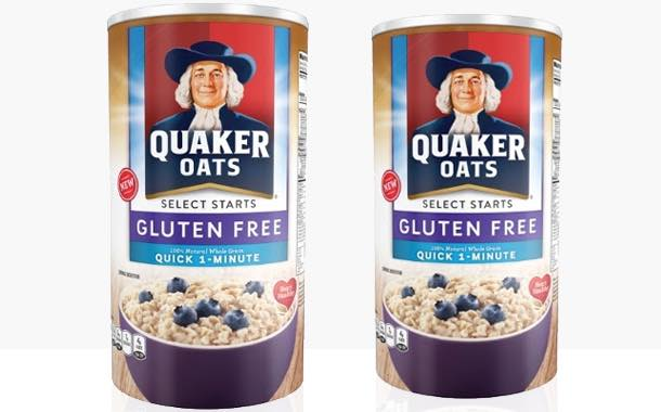Quaker Oats launches line of gluten-free oatmeals