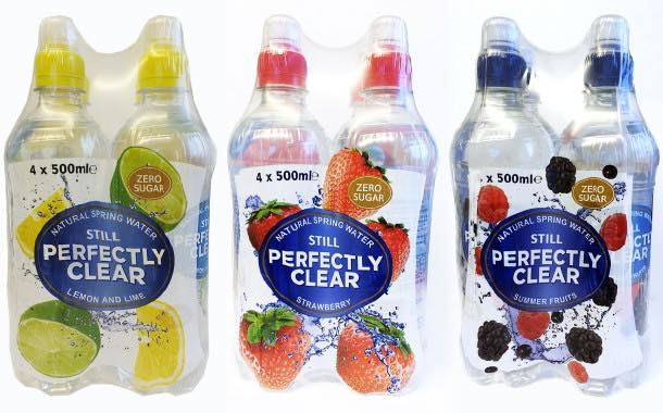 Perfectly Clear adds four-bottle multipacks of flavoured water