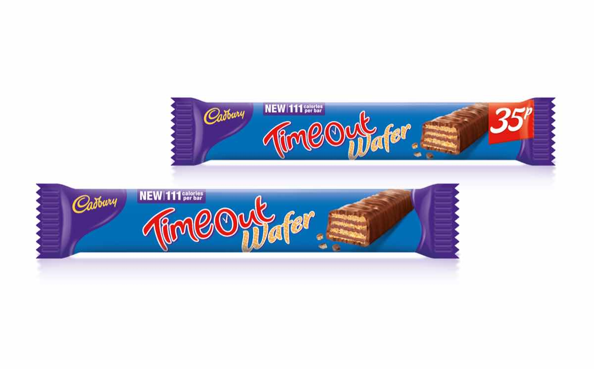 Cadbury Launches Time Out Wafer As New Low Calorie Treat