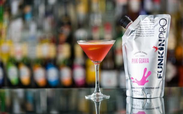 Cocktail brand Funkin adds two new 'exotic' purée flavours