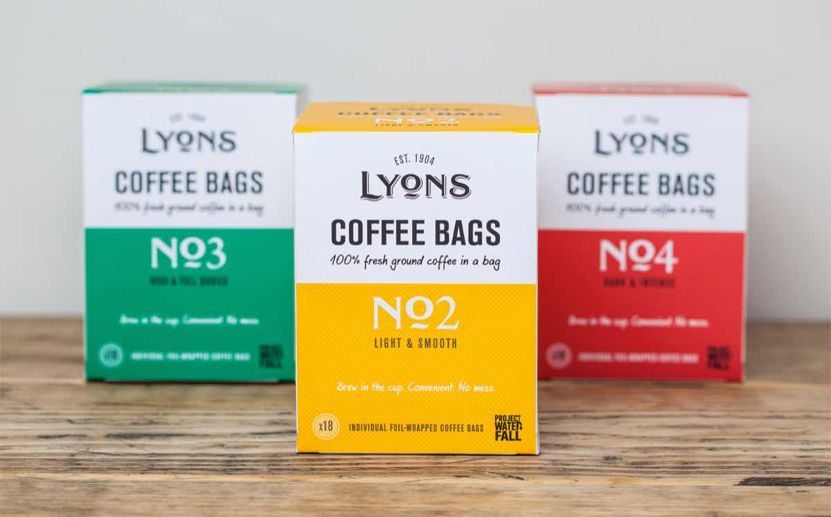 Ucc Coffee Refreshes Lyons Range Of Roast And Ground Bags