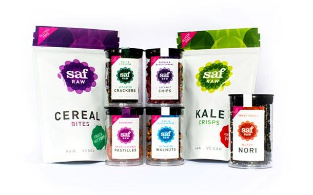 Saf Life launches new range of raw, vegan and gluten free healthy snack products