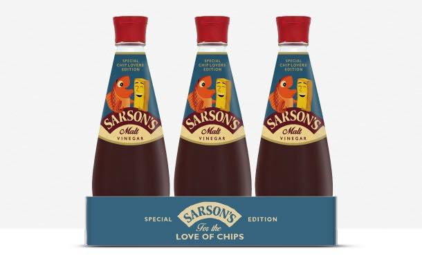 Vinegar brand Sarson's adopts limited-edition retro bottle