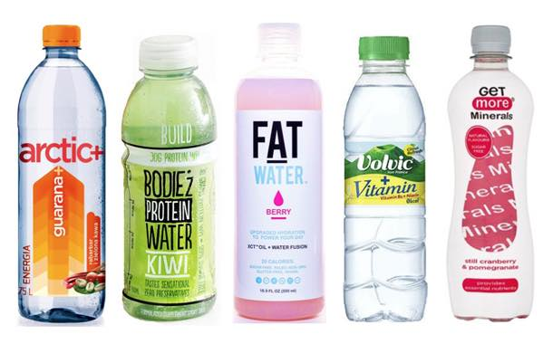 Functional waters market reaches $12bn value, report says