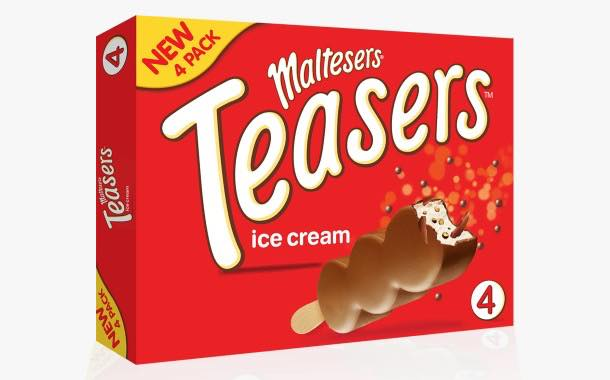Mars Ice Cream makes Maltesers Teasers available in a four-pack